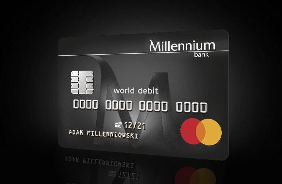 Millennium MasterCard World Debit - Private Banking - Bank
