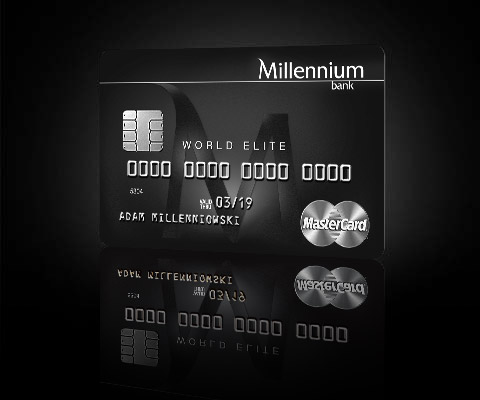 Karta World.Karta Kredytowa Millennium Mastercard World Signia Elite Bankowosc