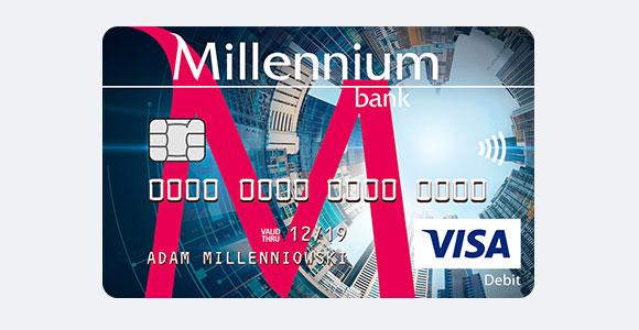 Debit Cards Payment Cards Bank Millennium