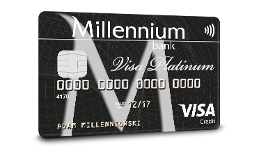 Millennium Visa Platinum Credit Card