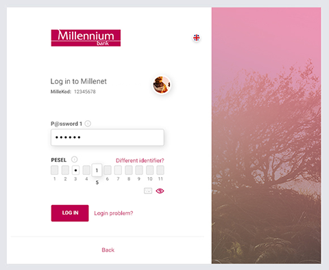 Millennium Bank Login