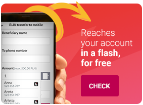 Reaches your account in a flash, for free