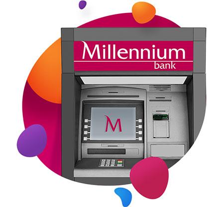 ATM banking - Electronic banking - Bank Millennium