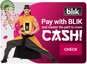Pay with BLIK and master the path to more CASH!